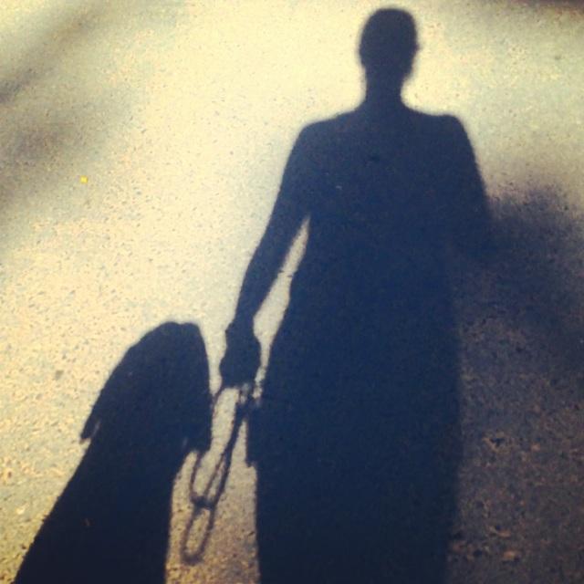 Dia ve ben yürüyoruz :)
